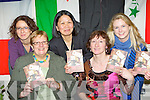 Launching the KASI Recipes from Home cookbook in the KASI center Killarney on Thursday night front row l-r: Roz Norman, Sheila Casey Chairperson, Marilyn Catapat-Counihan, Joni Kelly and Georgina Buffini...