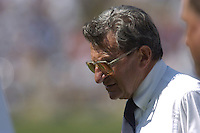 10 September 2005:  Joe Paterno..Penn State defeated Cincinnati 42-24 September 10, 2005 at Beaver Stadium in State College, PA..