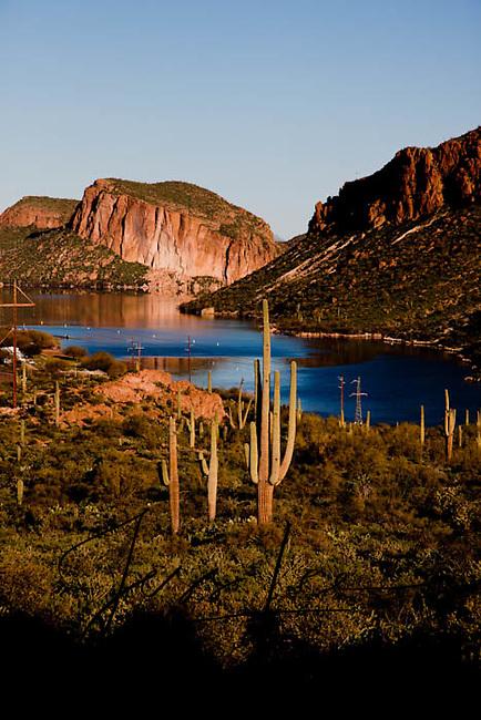 picture of apache lake arizona Stock Photo of Arizona USA