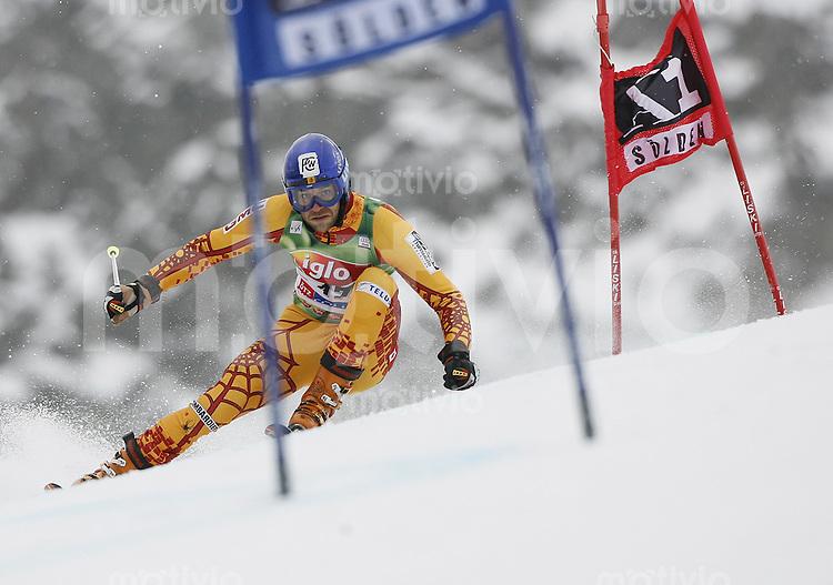 Ski Alpin Weltcup  Saisonauftakt in Soelden , AUT Riesenslalom Herren 28.10.07 ROY, Jean-Philippe  (CAN)