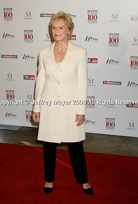 BEVERLY HILLS, CA. - December 05: Actress Glenn Close arrives at The Hollywood Reporter`s Annual Women In Entertainment Breakfast at the Beverly Hills Hotel on December 5, 2008 in Beverly Hills, California..