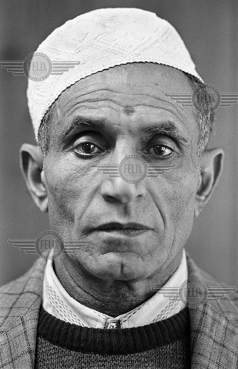 Fayed Ali al-Ahmed, a former sailor in a cafe run by a fellow Yemeni in Pillgwenlly, the dockland area of Newport. He was one of the pioneers who settled in the harbour towns and cities of the UK. .