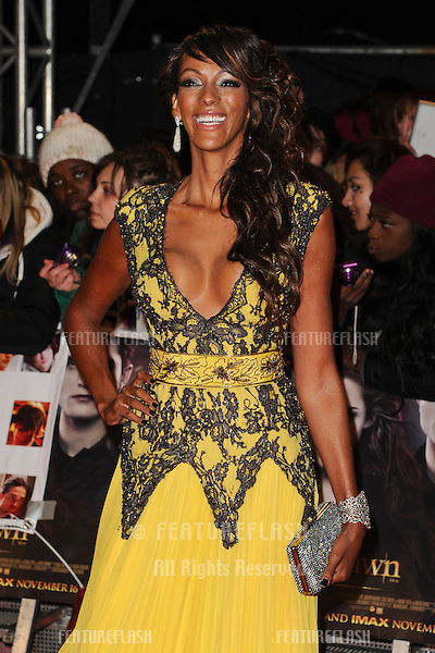 "Judi Shekoni arriving for the ""The Twilight Saga: Breaking Dawn Part 2"" premiere at the Odeon Leicester Square, London. 14/11/2012 Picture by: Steve Vas / Featureflash"
