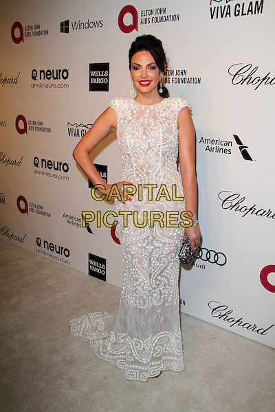 WEST HOLLYWOOD, CA - March 02: Bleona Qereti at the 22nd Annual Elton John AIDS Foundation Oscar Viewing Party, Private Location, West Hollywood,  March 02, 2014.  <br /> CAP/MPI/JO<br /> &copy;Janice Ogata/MediaPunch/Capital Pictures