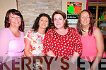 Birthday : Noreen Casey, Abbeyfeale celebrating her  birthday with  friends at Christy's Bar, Listowel on Saturday night last. L- R: Pia Scannell, Magg Scannell, Noreen Casey & Siobhan Long.
