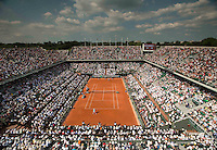 AMBIENCE<br /> Tennis - French Open 2014 -  Roland Garros - Paris -  ATP-WTA - ITF - 2014  - France -  8th June 2014. <br /> <br /> &copy; AMN IMAGES