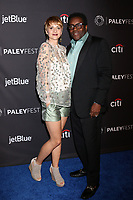 "LOS ANGELES - MAR 17:  Noemi Buttinger, Chad L Coleman at the 2018 PaleyFest Los Angeles - ""The Orville"" at Dolby Theater on March 17, 2018 in Los Angeles, CA"