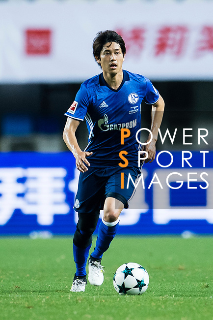 FC Schalke Defender Atsuto Uchida in action during the Friendly Football Matches Summer 2017 between FC Schalke 04 Vs Besiktas Istanbul at Zhuhai Sport Center Stadium on July 19, 2017 in Zhuhai, China. Photo by Marcio Rodrigo Machado / Power Sport Images
