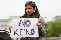 """31.05.2016 - """"No A Keiko Fujimori"""" - Protest in London"""