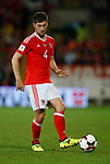 Ben Davies of Wales during the World Cup Qualifying Group D match at the Cardiff City Stadium, Cardiff. Picture date 2nd September 2017. Picture credit should read: Simon Bellis/Sportimage
