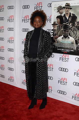 HOLLYWOOD, CA - NOVEMBER 09: Dee Rees at AFI Fest 2017 Opening Night Gala Screening Of Netflix's Mudbound at TCL Chinese Theatre on November 9, 2017 in Hollywood, California. Credit: David Edwards/MediaPunch