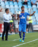 Getafe's  Juan Valera  during La Liga match.August 23,2013. (ALTERPHOTOS/Victor Blanco)