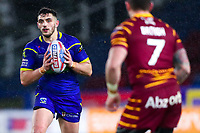 Picture by Alex Whitehead/SWpix.com - 08/02/2018 - Rugby League - Betfred Super League - Huddersfield Giants v Warrington Wolves - John Smith's Stadium, Huddersfield, England - Warrington's Declan Patton.