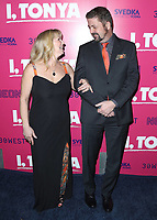 "LOS ANGELES- DECEMBER 5:  Tonya Harding and Joseph Jens Price at the Los Angeles Premiere of Neon and 30 West's ""I, Tonya""  at the Egyptian Theater on December 5, 2017 in Los Angeles, California. (Photo by Scott Kirkland/PictureGroup)"