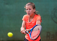 Hilversum, Netherlands, August 9, 2017, National Junior Championships, NJK, Isis van den Broek<br /> Photo: Tennisimages/Henk Koster