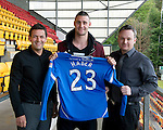 St Johnstone Players Sponsors Night, McDiarmid Park...09.05.12.Marcus Haber.Picture by Graeme Hart..Copyright Perthshire Picture Agency.Tel: 01738 623350  Mobile: 07990 594431