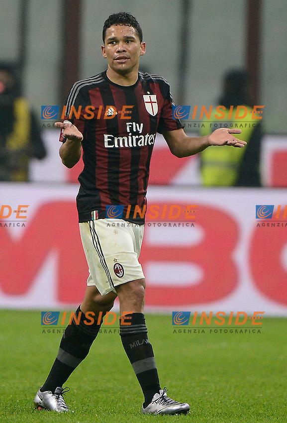 Carlos Bacca Milan<br /> Milano 31-01-2016 Stadio Giuseppe Meazza - Football Calcio Serie A Milan - Inter. Foto Giuseppe Celeste / Insidefoto