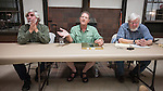 Panel discussion on transitioning from film to digital with Steve Johnson, Mark Citret and Ted Orland during the 26th Photographers Rendezvous at San Lorenzo Park, King City, Calif.<br /> <br /> A weekend of photographer fellowship, stories, viewing photographs