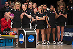 16 APR 2016:  Nebraska during the Division I Women's Bowling Championship held at the Brunswick Zone Carolier in North Brunswick, NJ.  Stephen F. Austin State won the national title.  Ben Solomon/NCAA Photos