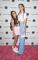 LOS ANGELES, CA - AUGUST 11: Makenzie Moss, Ruby Jay, at Beautycon Festival Los Angeles 2019 - Day 2 at Los Angeles Convention Center in Los Angeles, California on August 11, 2019. <br /> CAP/MPIFS<br /> ©MPIFS/Capital Pictures