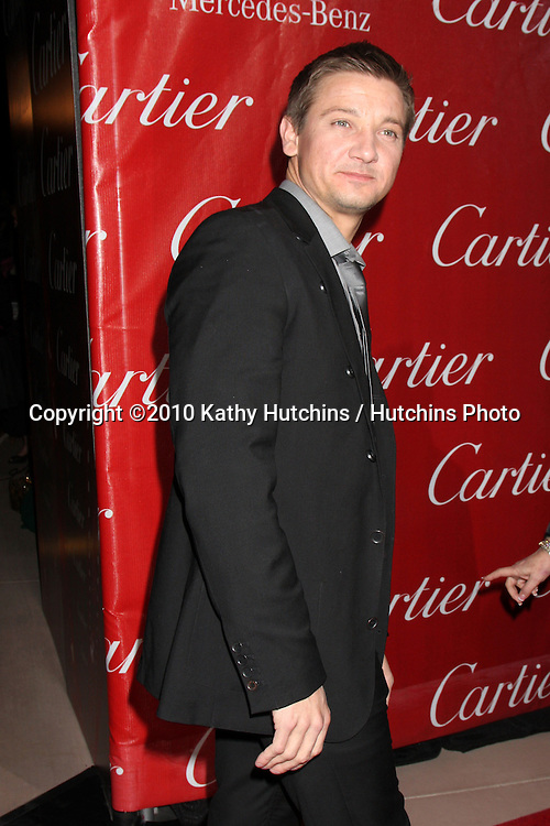Jeremy Renner.arriving at the 2010 Palm Springs Film Festival Awards Gala.Palm Springs Convention Center.January 5, 2010.©2010 Kathy Hutchins / Hutchins Photo.