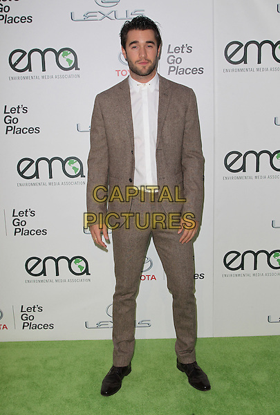 18 October 2014 - Burbank, California - Joshua Bowman. 24th Annual Environmental Media Awards Presented By Toyota And Lexus Held at The Warner Brothers Studios.   <br /> CAP/ADM/FS<br /> &copy;Faye Sadou/AdMedia/Capital Pictures