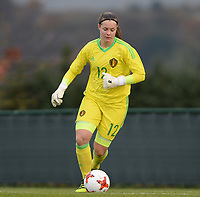 20171125 - TUBIZE , BELGIUM : Belgian Diede Lemey pictured during the friendly female soccer game between the Belgian Red Flames and Russia , Saturday 25 th November 2017 at the Belgian FA Euro 2000 Center in Tubize , Belgium. PHOTO SPORTPIX.BE   DAVID CATRY