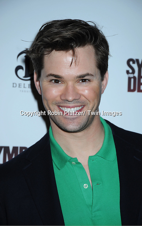 """Andrew Rammells attending the """"Sympathy For Delicious"""" special screening.on April 25, 2011 at The Sunshine Landmark Theatre in New York City. The movie stars Mark Ruffalo, Orlando Bloom, Laura Linney and Christopher Thornton."""