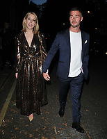 Katherine Ryan and Bobby Kootstra at the Moet & Chandon Summer House opening party, Moet Summer House, 11 Carlton House Terrace, London, England, UK, on Thursday 06th June 2019.<br /> CAP/CAN<br /> ©CAN/Capital Pictures