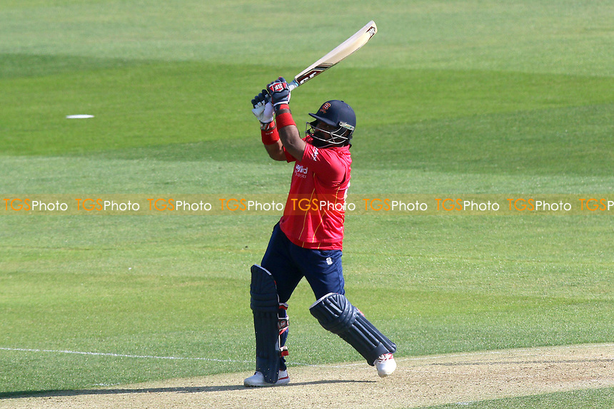 Ashar Zaidi hits six runs for Essex during Essex Eagles vs Sussex Sharks, Royal London One-Day Cup Cricket at The Cloudfm County Ground on 10th May 2017