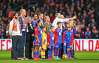 Prematch photo shoot during the EPL - Premier League match between Crystal Palace and Liverpool at Selhurst Park, London, England on 29 October 2016. Photo by Steve McCarthy.