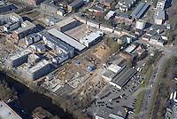 Glasblaeserhoefe: EUROPA, DEUTSCHLAND, HAMBURG, (EUROPE, GERMANY), 02.04.2016: Bergedorf, Glasblaeserhoefe,