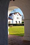 The Historical Hacienda Hotel inside Fort Hunter Liggett, Jolon, CA