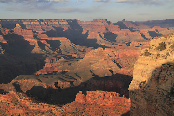 View from Canyon Village and the South Rim towards the Tonto Plateau and the Colorado River, Grand Canyon National Park, northern Arizona, USA .  John offers private photo tours in Grand Canyon National Park and throughout Arizona, Utah and Colorado. Year-round.