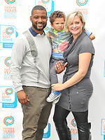 Jonathan &quot;JB&quot; Gill, Ace Jeremiah Gill and Chloe Tangney at the In Kind Direct's 20th Birthday Celebration picnic garden party, Ranelagh Gardens, The Royal Hospital, Chelsea, London, England, UK, on Tuesday 08 August 2017.<br /> CAP/CAN<br /> &copy;CAN/Capital Pictures
