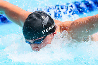 Picture by Alex Whitehead/SWpix.com - 05/04/2018 - Commonwealth Games - Swimming - Optus Aquatics Centre, Gold Coast, Australia - Sam Perry of New Zealand competes in the Men's 50m Butterfly heats.