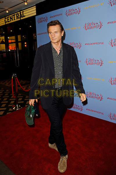 LONDON, ENGLAND - SEPTEMBER 13:  Liam Neeson attending 'Hunt For Wilder People' UK Premiere at Picturehouse Central on September 13, 2016 in London, England.<br /> CAP/MAR<br /> &copy;MAR/Capital Pictures