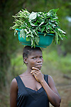 A woman in Mount Barclay, Liberia.