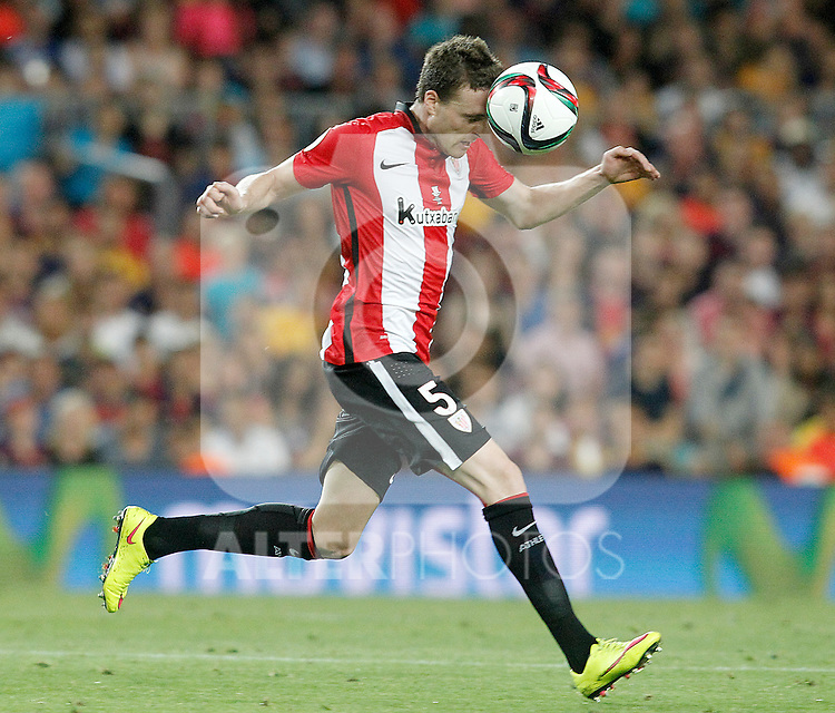 Athletic de Bilbao's Javi Eraso during Supercup of Spain 2nd match.August 17,2015. (ALTERPHOTOS/Acero)