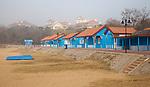 Beach Huts, Badaguan, Qingdao.