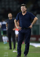 Calcio, Serie A: Torino - Sassuolo, Olympic stadium Grande Torino, August 25, 2019.<br /> Torino's coach Walter Mazzarri looks on during the Italian Serie A football match between Torino and Sassuolo at Olympic stadium Grande Torino, August 25, 2019.<br /> UPDATE IMAGES PRESS/Isabella Bonotto