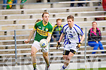 Darran O'Sullivan breaks away from Cillian O'Keeffe of Waterford last Saturday in Fitzgerald Stadium for the Munster GAA football championship