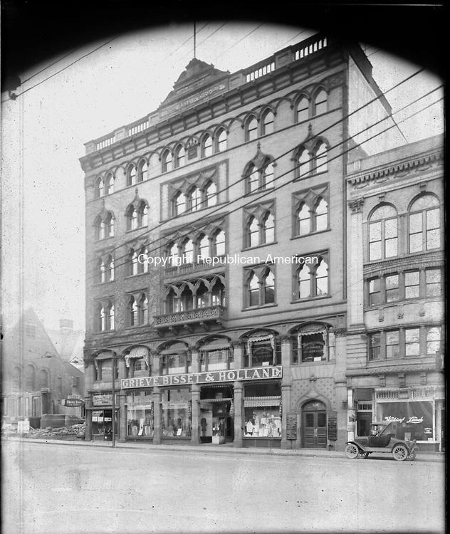 Frederick Stone negative. 100F Building Grieve Bisset & Holland. Undated.