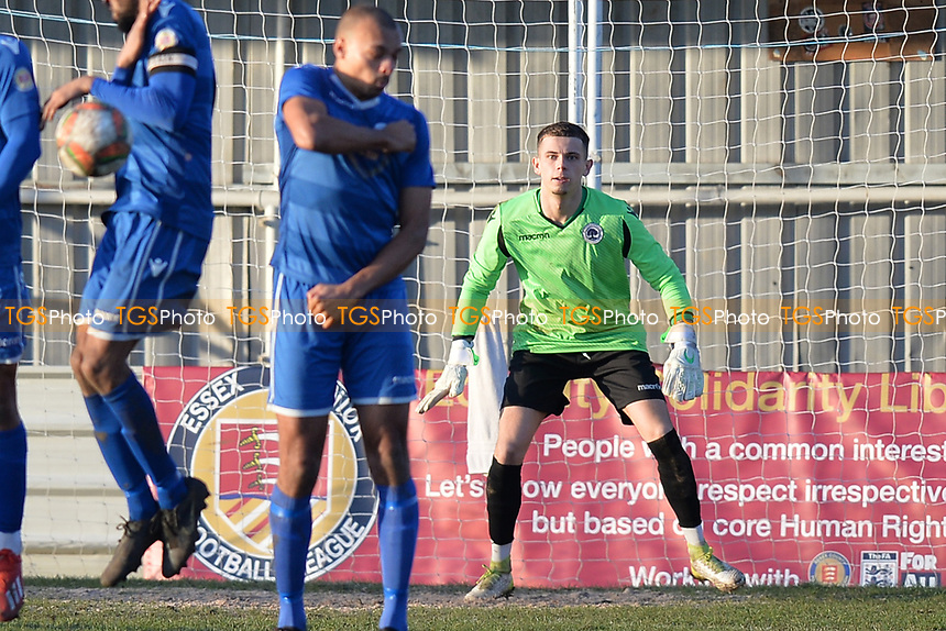 lewis Todd of Walthamstow during Walthamstow vs Sawbridgeworth Town, Essex Senior League Football at Wadham Lodge Sports Ground on 8th February 2020