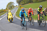 Mavi Victo Garcia (ESP) MovistarTeam Women, Marianne Vos (NED) CCC-Liv and Soraya Paladin (ITA) Ale Cipollini attack during Stage 2 of the 2019 ASDA Tour de Yorkshire Women's Race, running 132km from Bridlington to Scarborough, Yorkshire, England. 4th May 2019.<br /> Picture: ASO/SWPix | Cyclefile<br /> <br /> All photos usage must carry mandatory copyright credit (© Cyclefile | ASO/SWPix)