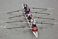 Crew: 164   Norwich School Boat Club   Girls School First 8<br /> <br /> Schools' Head of the River 2018<br /> <br /> To purchase this photo, or to see pricing information for Prints and Downloads, click the blue 'Add to Cart' button at the top-right of the page.