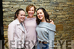 Maeve Daly, Susan Daly and Abbey Daly at the  Light Opera Society of Tralee's production of West Side Story at Siamsa Tíre on Thursday