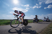 Taylor Phinney (USA)<br /> <br /> Eneco Tour 2013<br /> stage 5: ITT<br /> Sittard-Geleen 13,2km
