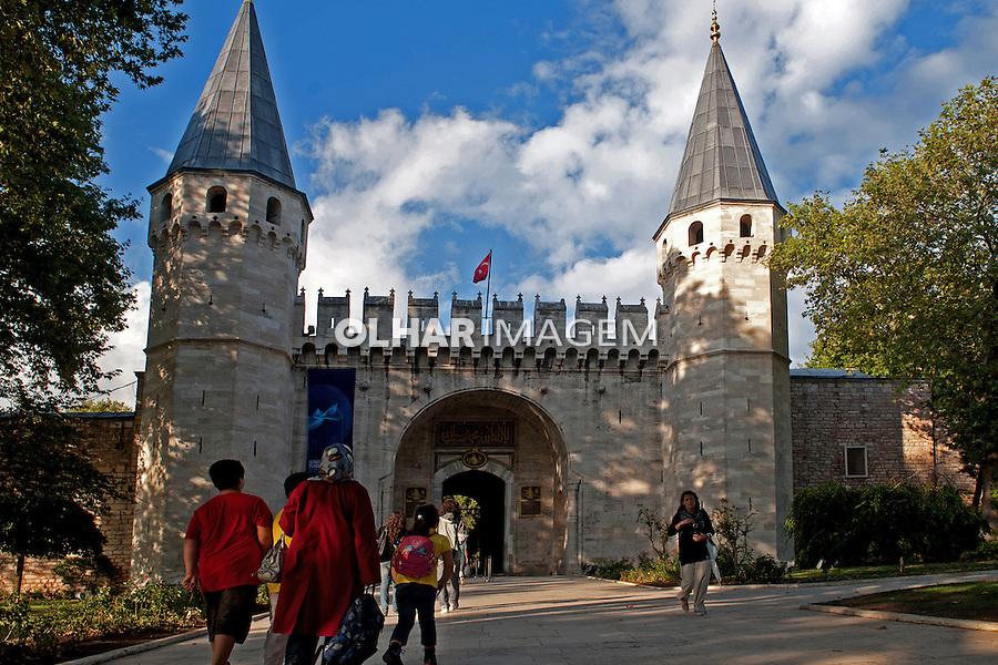 Edificio do Palácio Topkapi em Istambul, Turquia. 2011. Foto de  Luciana Whitaker.