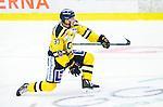 Huddinge 2015-09-20 Ishockey Division 1 Huddinge Hockey - S&ouml;dert&auml;lje SK :  <br /> S&ouml;dert&auml;ljes Jakob Wallin firar sitt 4-1 m&aring;l under matchen mellan Huddinge Hockey och S&ouml;dert&auml;lje SK <br /> (Foto: Kenta J&ouml;nsson) Nyckelord:  Ishockey Hockey Division 1 Hockeyettan Bj&ouml;rk&auml;ngshallen Huddinge S&ouml;dert&auml;lje SK SSK jubel gl&auml;dje lycka glad happy